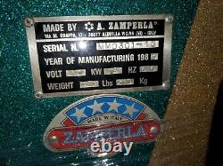 Zamperla MR MUSCLE strength coin operated op vintage arcade carnival machine old