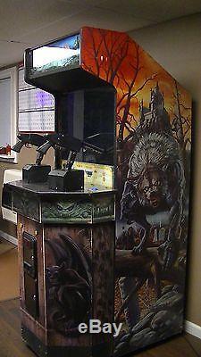 Zombie raid arcade machine
