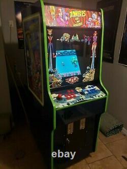 Zombies ate my neighbors snes arcade machine