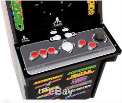 12-in-1 Jeu Vidéo Arcade Machine Cabinet Avec Riser Atari Ateroids Centipede
