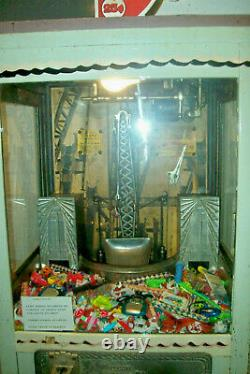 1931 Mutoscope Griffe De Fer Prix Digger Arcade Machine Works! (pick-up À Indy)