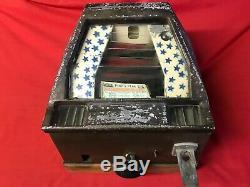 1933 Groetchen Pikes Simulator Trade Pic Coin Op Arcade Game Machine De Boule De Gomme