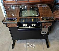 1980 Atari Asteroids Deluxe Cocktail Arcade Machine N ° De Série 206