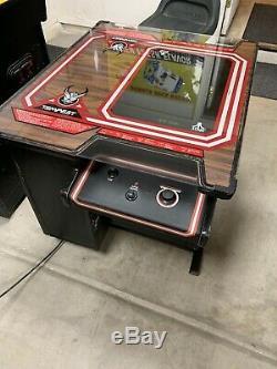 1980 Tempest Arcade Cocktail Game Machine Rare Deux Joueurs Atari Xy Vector