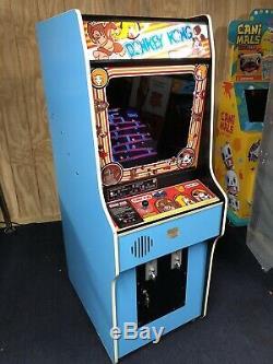 1981 Donkey Kong Original Full Size Réformé Arcade Machine
