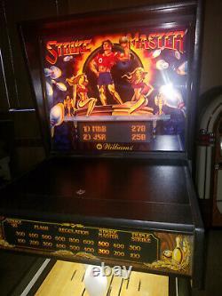 1991 Williams Strike Master Shuffle Alley Bowling Machine