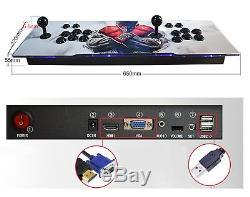 2200 Jeux Pandora Box 3d Arcade Console Rétro Machine De Jeu Vidéo Double Bâtons