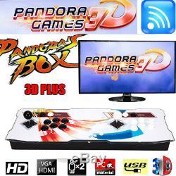 2448 Dans 1 Box Arcade 3d Jeux Wifi Pandora Console Machine Accueil Double-joueurs