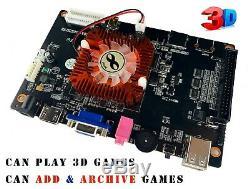 2650 Jeux Pandora Trésor II Arcade 3d Console De La Machine Rétro Jeu Vidéo Mario
