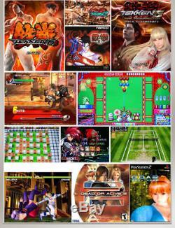 2.4ghz Sans Fil 2020 En 1 Jeux Machine De Console D'arcade Vidéo 3d Pandora's Box