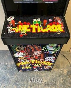 2 Lecteur Arcade Machine Custom Upright Full Size 7000 Jeux Classiques