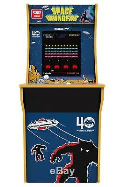 (2 Livraison Day) Space Invaders Arcade Machine, Arcade1up, 4ft (exclusif)