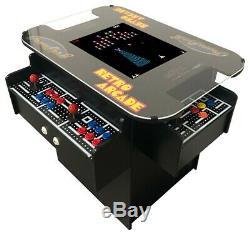 3 Cocktail Arcade Machine Sided Jeux, Plus De 1000 Ms Pac-man, Commercial Grade