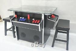 3 Side Arcade Cocktail W 1162 Jeu En 1 Machine Livraison Gratuite Et Selles