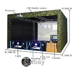 3d Air Gun Hunting Coin Operated Arcade Vr Shooting Simulator Machine Voir La Vidéo