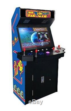 4 Joueurs Standup Arcade Machine3500 Jeux Classiques 32 Pouces À Écran Verticale