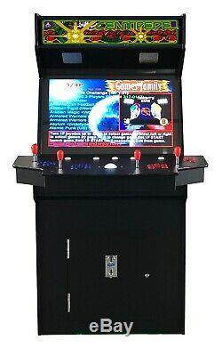 4 Joueurs Standup Arcade Machine3500 Jeux Classiques 32 Pouces Cocktail Écran