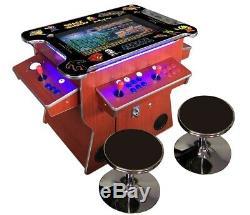 4 Player Cocktail Arcade Machine3500 Jeux Classiques 26.5 Écran Cherry