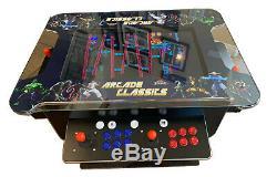 4 Player Cocktail Arcade Machine3500 Jeux Classiques 26.5 Pouces Écran Lg
