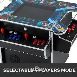 4 Player Cocktail Arcade Machine 2475 Jeux Classiques Commercial Grade 3 Faces