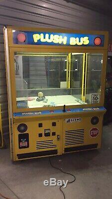 60 Ice En Peluche Bus Grue Griffe Machine Jeu D'arcade! Disponible Expédition