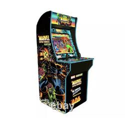 Arcade1up 4ft Marvel Super Heroes At-home Arcade Machine 3 Jeux Nouveaux Navires Rapide
