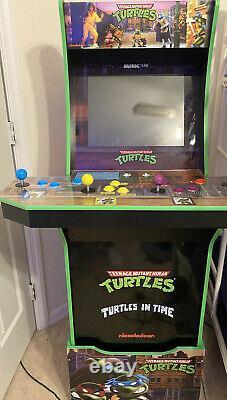 Arcade1up Adolescent Mutant Ninja Turtles Arcade Cabinet Machine, Riser (tmnt)
