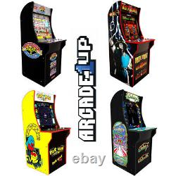 Arcade1up Arcade Machine Games Street Fighter, Mortal Kombat, Pac Man, Galaga
