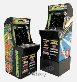 Arcade1up Atari 12 En 1 Deluxe Edition Centipede Asteroids Arcade Machine Riser