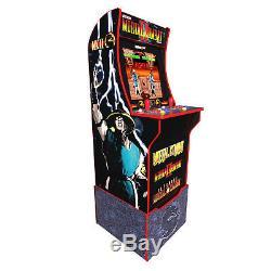 Arcade1up Mortal Kombat At-home Arcade Machine Avec Riser Brand New