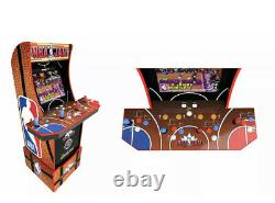Arcade1up Nba Jam Tournament Edition Arcade Cabinet Machine Avec Riser & Stool