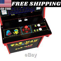 Arcade1up Pac-man Arcade Machine 2 Jeux En 1 Withriser Nouvelle Opération D'opération Sans