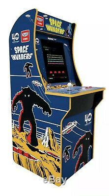 Arcade1up Space Invaders Arcade Machine Original Game, Grand Brand New 4ft