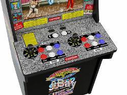 Arcade1up Street Fighter 2 3 Jeux En 1 Arcade Machine 4ft De Haut Intérieur Extérieur