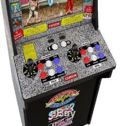 Arcade1up Street Fighter 2 Retro Machine 4ft Tall 3 En 1 Jeux Cabinet Classique