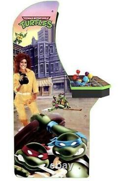 Arcade1up Teenage Mutant Ninja Turtles Tmnt Arcade Machine Withriser Brand New