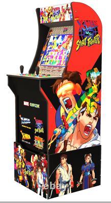 Arcade1up X-men Vs Street Fighter New Arcade Machine Jeu Vidéo Machine + Riser