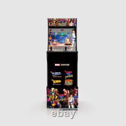 Arcade1up X-men Vs Street Fighter Vidéo Arcade Machine De Jeu Avec Riser