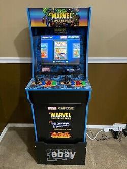 Arcade 1up 4ft Marvel Super Heroes À La Maison Arcade Machine