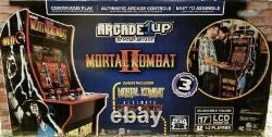 Arcade 1up Mortal Kombat 2 Jeu LCD Vidéo Machine 3 En 1 New Factory Sealed Nib
