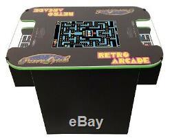 Arcade Cocktail Machine Avec 412 Jeux Classiques, De Qualité Commerciale, Mme Pac-man
