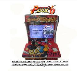 Arcade Cocktail Machine Avec Arcade 1388 Jeux Mode 2play Jeu Vidéo Commercial