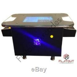 Arcade Coffee Table Machine 412 Retro Games 2 Jeux Joueur Cabinet Uk Made