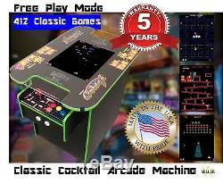 Arcade Commercial Grade Cocktail Machine Avec 412 Jeux Meilleur Garantie 5 Ans