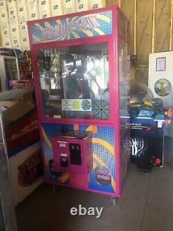 Arcade Crane Machine Claw Smart Bonus Spin Rose