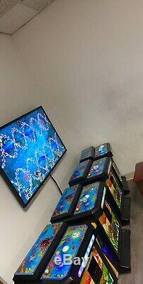 Arcade Game Fish Monstre Ledgue Fish Hunter Jeu De Pêche Machine 4 Joueurs