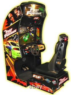 Arcade Machine Expresse Et Furieuse Par Raw Thrills 2004 (excellent Condition) Avec LCD