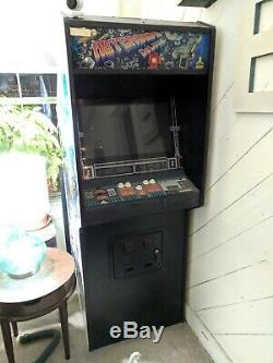 Atari Asteroids Deluxe Coin-op Video Arcade Game Machine Rare Avec Caisson De Basses