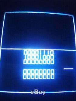 Atari Tempest Vecteur Couleur Xy Verticale Machine D'arcade Vidéo Graphique
