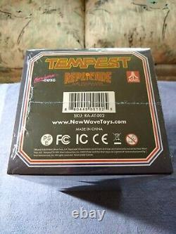Atari Tempest X Replicade New Wave Toys 1/6 Scale Arcade Machine (newithsealed!)